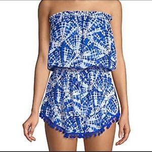 Ramy brook strapless mini dress